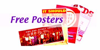 پوسترهایی با موضوع ایدز